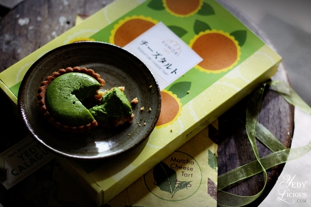 Kumori PH Matcha Cheese Tart Blog Review, New Products at Kumori PH, Best Cheese Tarts in Manila, Kumori Facebook Twitter Instagram YedyLicious Manila Food Blog Yedy Calaguas