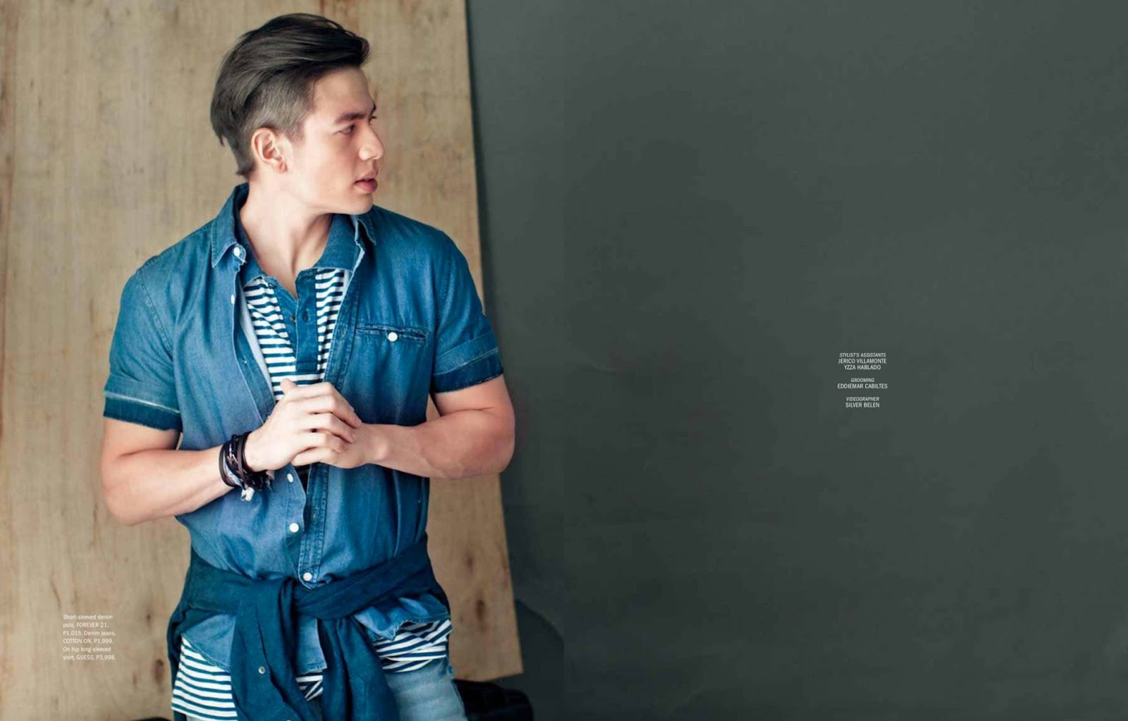 Fashion Media PH: Jake Ejercito by Cholo Dela Vega for ...  Jake Ejercito And Georgina Wilson