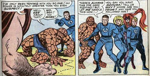 Fantastic Four 44 Lee Kirby Inhumans