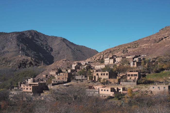 Randonnée dans le parc national du Toubkal au Maroc