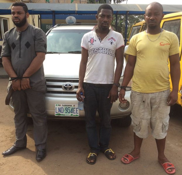 kidnappers from ibadan arrested lagos