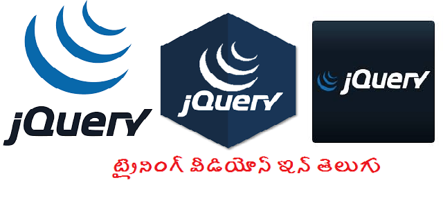 jquery training videos in telugu