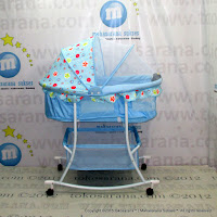 CareBaby CBD308 Baby Bed Rocker