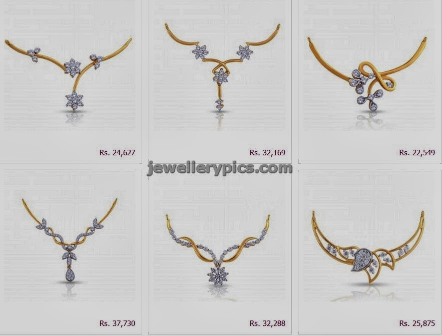 dd166c9ae363f Malabar gold black beads pendent catalogue - Latest Jewellery Designs