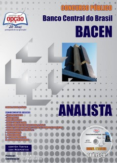 Apostila Concurso Bacen – Banco Central do Brasil - Técn
