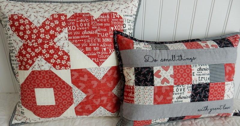 Valentine's Pillow Tutorial
