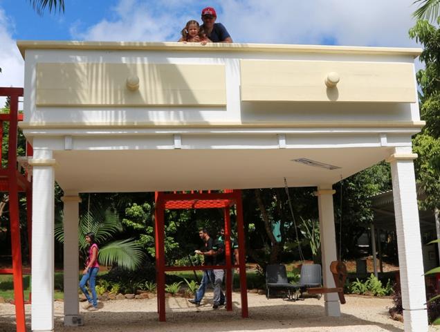 Perspectivas del Jardín en Curious Corner de Chamarel