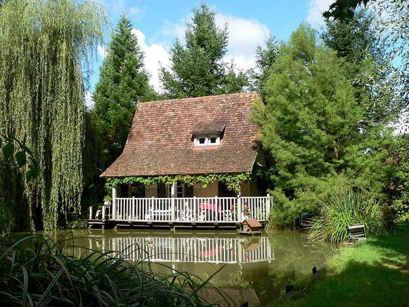 Le jardin des Songes, Alsacia, Francia