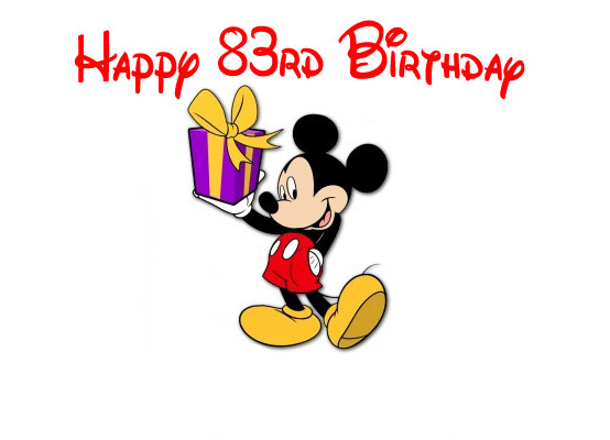 9 Disney Happy Birthday Mickey Mouse Characters Wallpaper