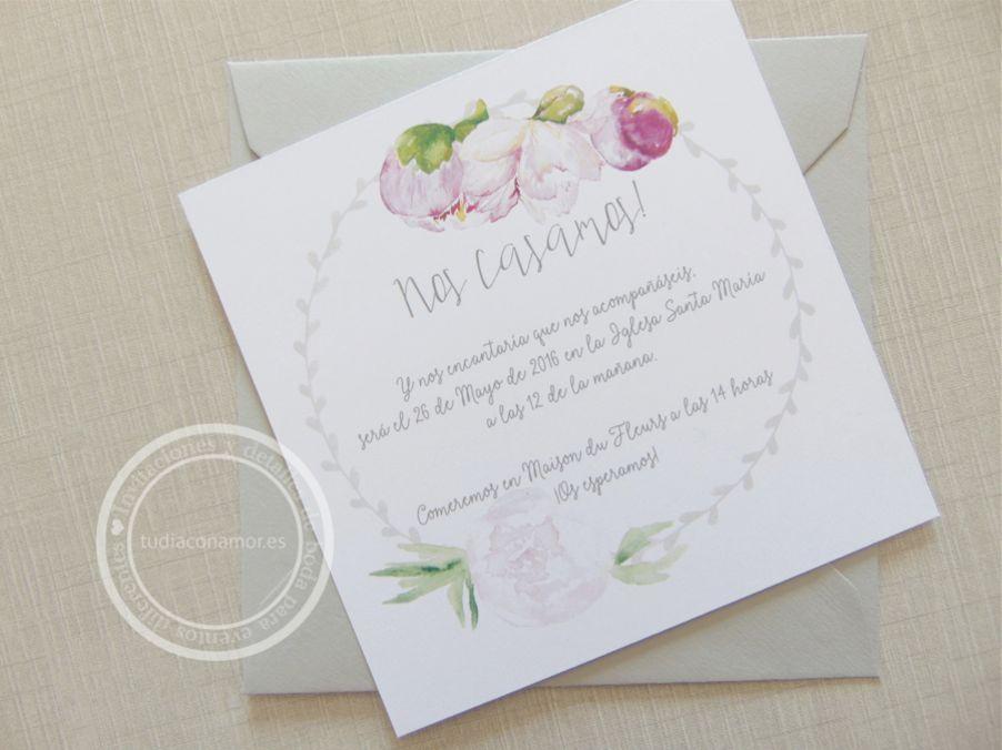 Blog de tu d a con amor invitaciones y detalles de boda - Bodas sencillas y romanticas ...