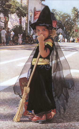 "American Watercolor painter-""Steve Hanks"" 1949"