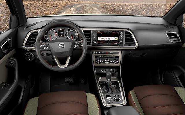 Seat Ateca 2017 - interior