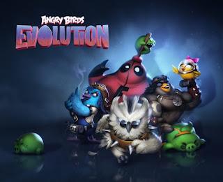 لعبه angry birds evolutian للاندرويد والايفون اخر اصدار 2017