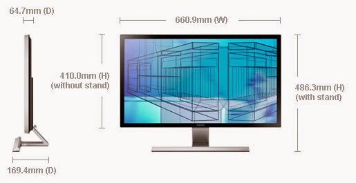 Monitor Samsung U28D590D review. Monitores para PC de escritorio (sobremesa), imágenes, precio, información, datos, opiniones, crítica, comentarios