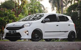 foto modifikasi Toyota Agya TRD Sportivo