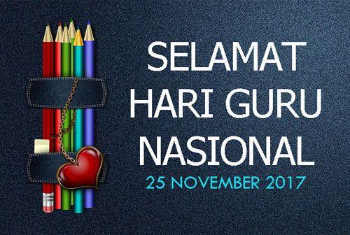 hari guru di indonesia