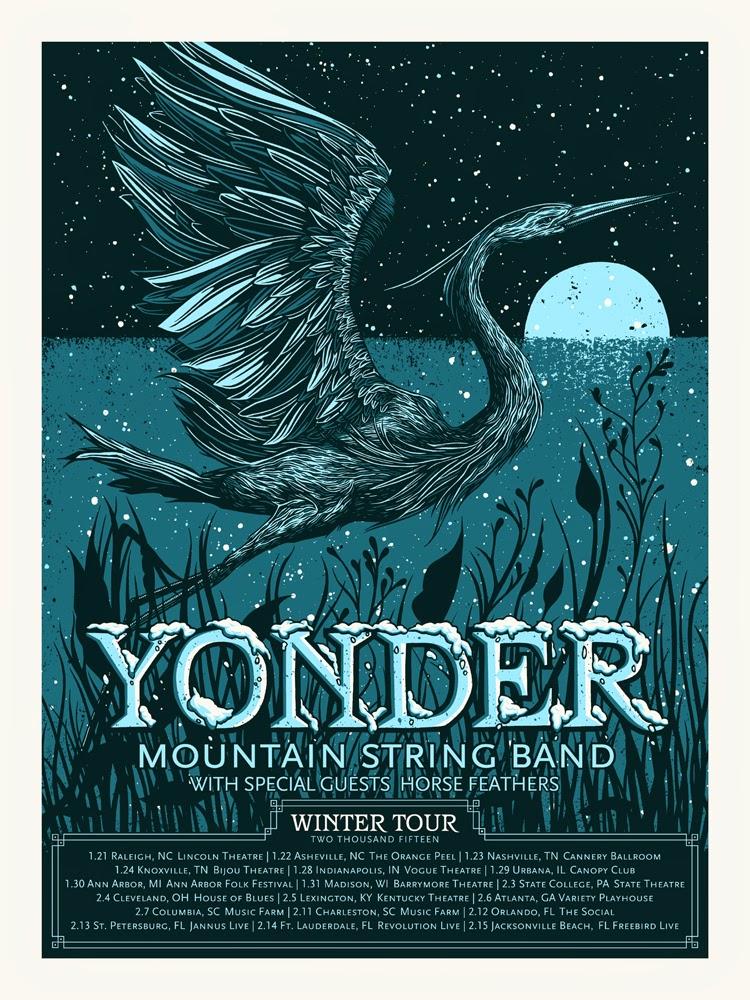 INSIDE THE ROCK POSTER FRAME BLOG: John Vogl Yonder