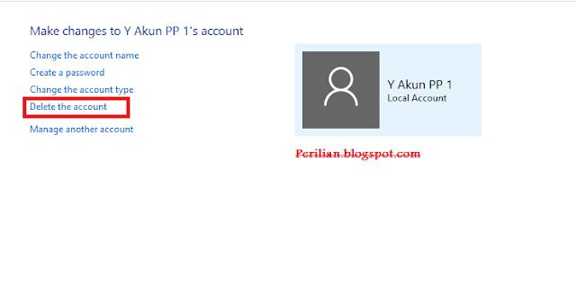 Cara Mudah Menghapus User (Pengguna) di Windows 7,8,10
