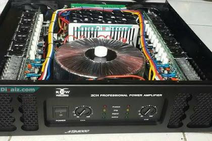 Cara Memilih TR Final Yang Bagus Untuk Amplifier Subwoofer