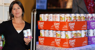 Amy Barnouw, founder of Planet Fuel Beverage Company
