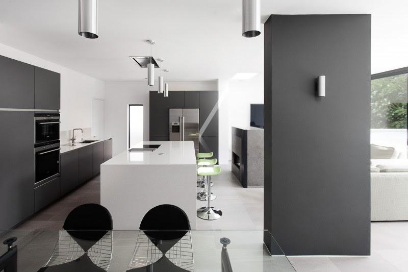 decorar com Arquitetura Moderna Com Interior Elegante