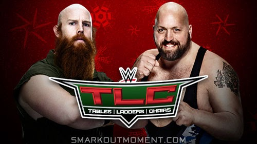 WWE Tables Ladders Chairs Stairs Match Steel Steps Erick Rowan vs Big Show