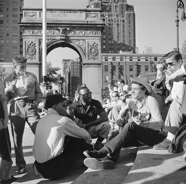 Vintage Everyday Old Photos Of Greenwich Village In The 1950s