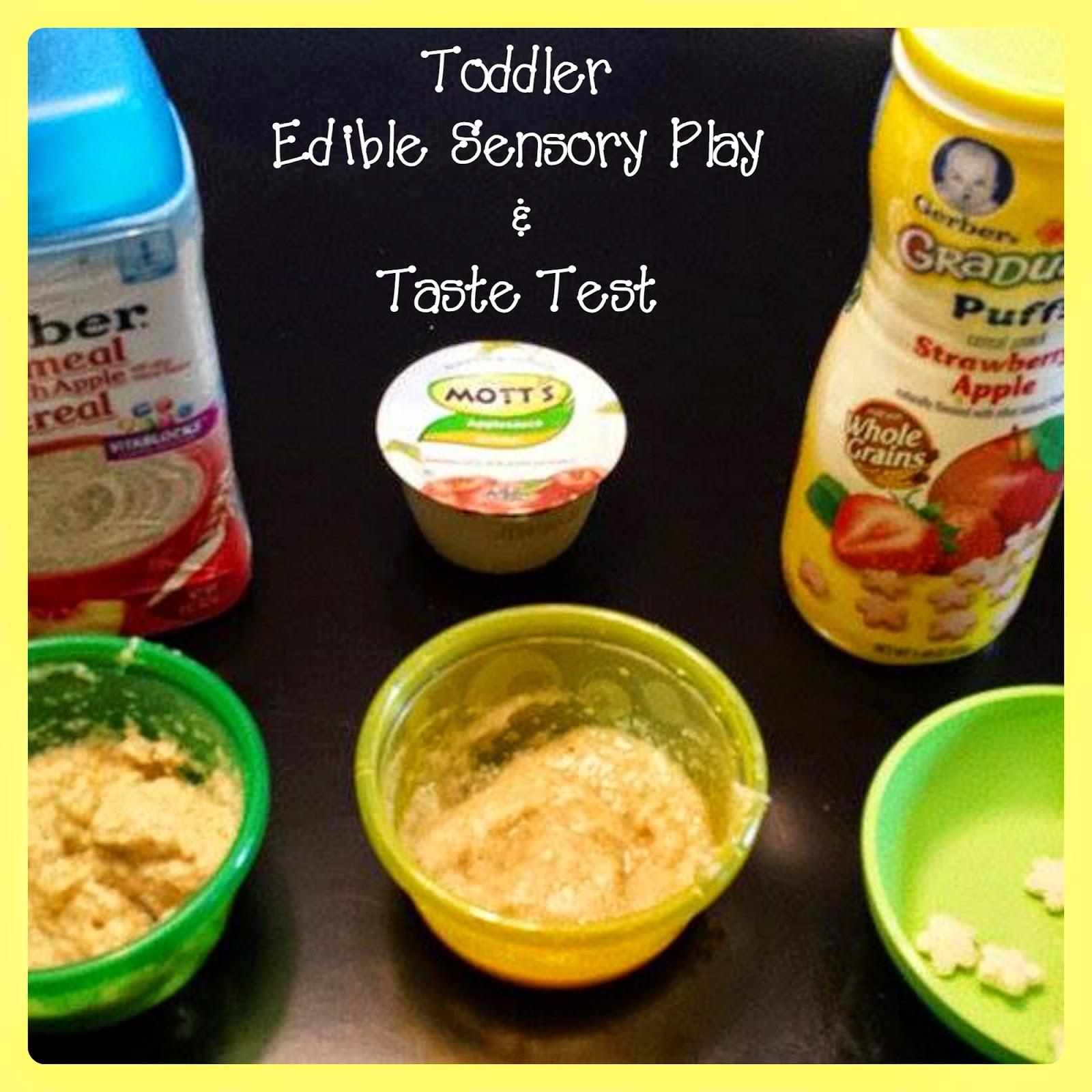 Pink Polka Dots And Pre K Edible Apple Sensory Play