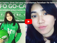 Kecantikan Driver Ojek Online Intan Septi Ceptina Perpaduan Via Vallen dan Isyana Sarasvati