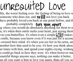 Unrequited Love Quotes