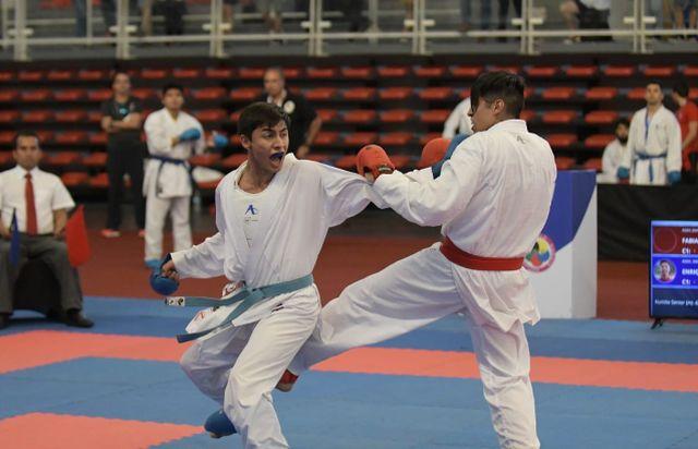 """Destacada labor de la """"Armada Kenshokan"""" en Nacional de Karate"""