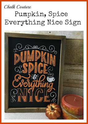 Vintage Paint and more... Diy'd chalkboard sign made with Chalk Couture transfer and chalk paste