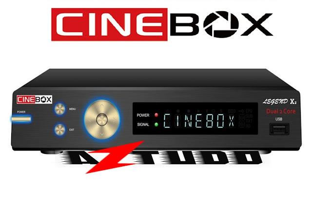 Resultado de imagem para CINEBOX LEGEND X2   AZTUDO