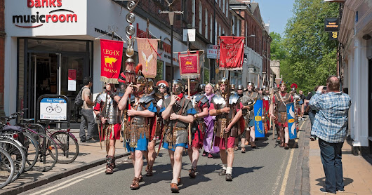 The Glory that is Rome. Triumphal Entry into Rickmansworth..
