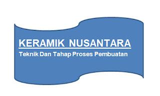 Teknik Dan Tahap Proses Pembuatan Keramik Nusantara