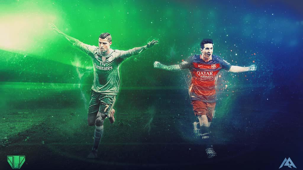 Messi And Ronaldo Wallpaper 2016