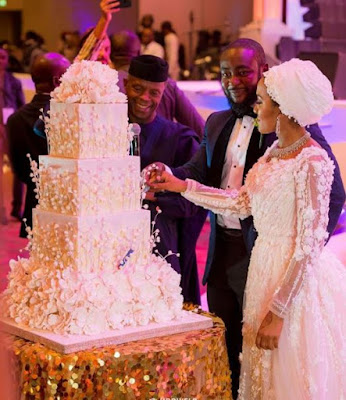 Beautiful Photos From The White Wedding Reception Of Dangote's Daughter In Lagos