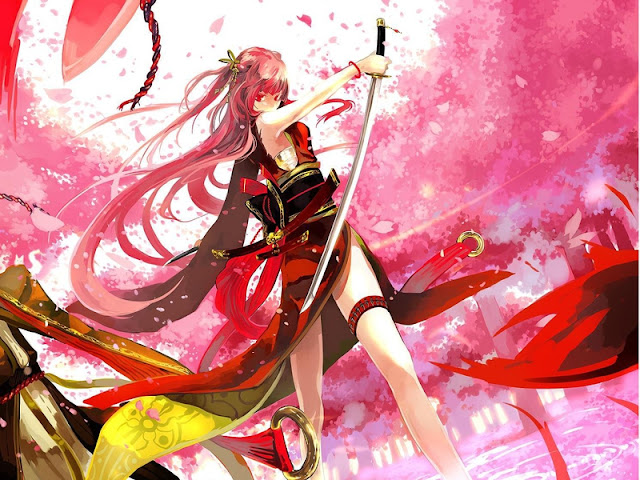 Red Hair Anime Girl With Sword: Rin3173's Journal
