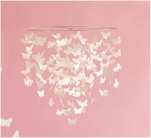 BUTTERFLY DECORATION FOR BEDROOMS   IDEAS TO DECORATE A GIRLS BEDROOM WITH  BUTTERFLIES