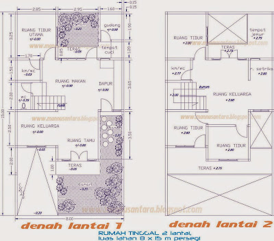 Desain Rumah Minimalis 10 X 13