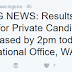 WASSCE For Private Candidates [GCE] 2016/17 Results Out