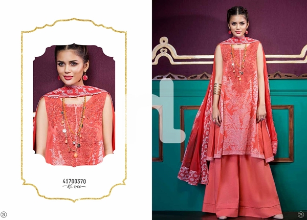 Latest Eid Collection 2017 by Nishat Linen With Price