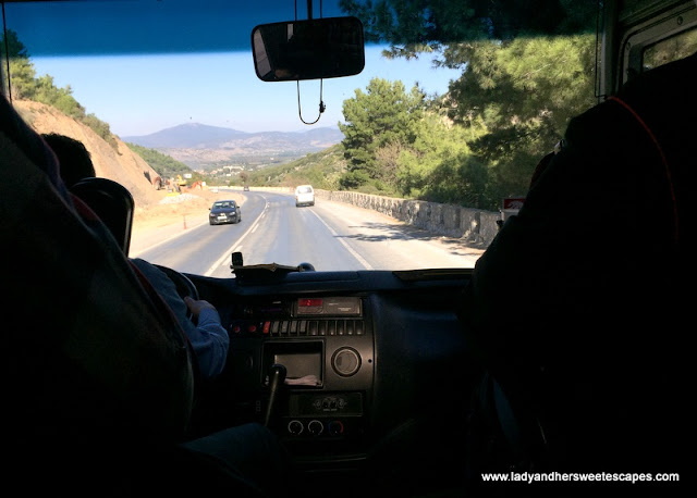 road to Selcuk from Pamukkale