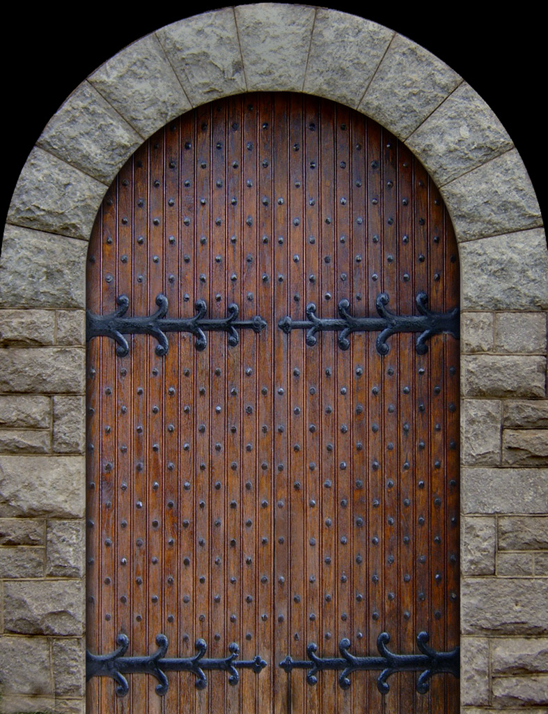Studs in medieval doors? - Blacksmithing, General Discussion - I ...