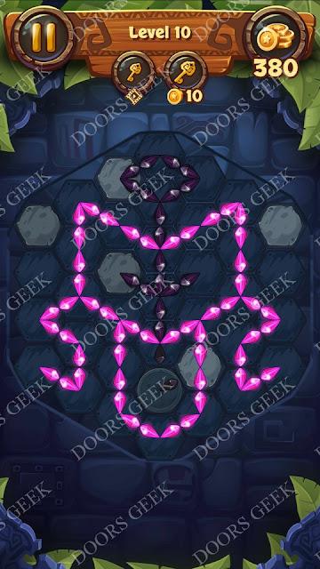 Gems & Magic [Indigo] Level 10 Solution, Walkthrough, Cheats