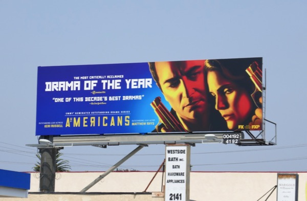 Americans season 6 Emmy nominee billboard