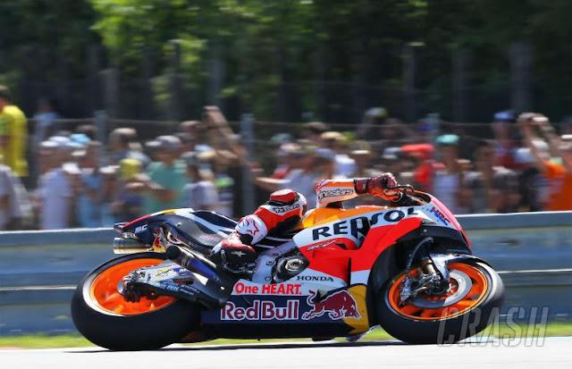 Marquez Juara MotoGP Ceko, Rossi Keempat