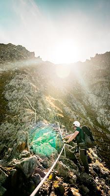 Seetalwanderung und Klettersteig Hochjoch  Silvretta Montafon 12