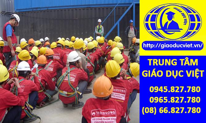 Đăng ký học an toàn lao động-vệ sinh lao động tại Vĩnh Long, cấp chứng nhận/chứng chỉ an toàn lao động-vệ sinh lao động khi kết thúc khóa học: 0945.827.780 - 0965.827.780 - Website: http://giaoducviet.rdc.vn/