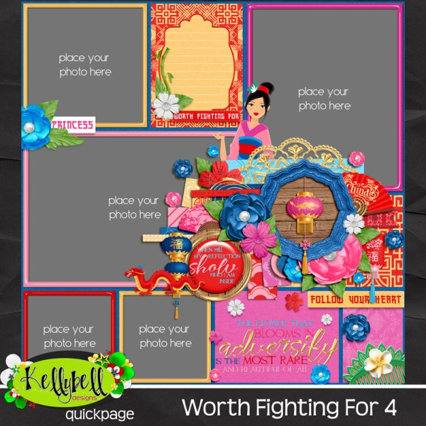Worth Fighting For by KellyBell Designs